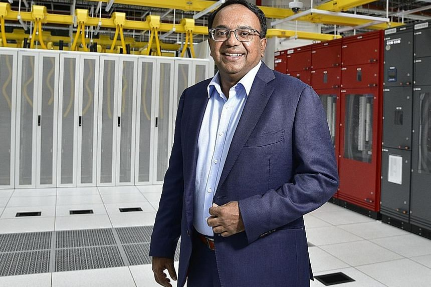 STT Global Data Centres has carved out a niche by running data centres as a service provider and STT Defu, which opened just last year, is almost full, with a second centre on its campus due by the end of next year. Chief executive Bruno Lopez says t