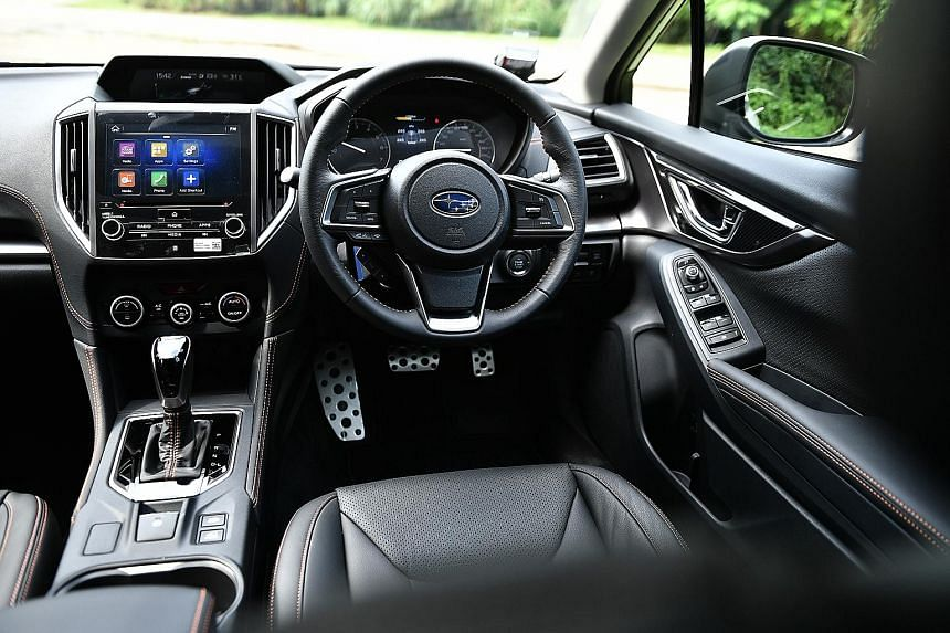 The Subaru XV 1.6i-S comes with torque vectoring and X-Mode, an electronic assistance programme for offroad driving.