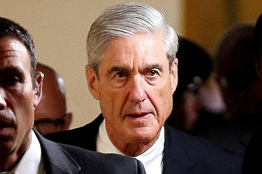 Special counsel Robert Mueller has assembled a team to examine whether any of the President's advisers aided Russia's bid to disrupt last year's polls.