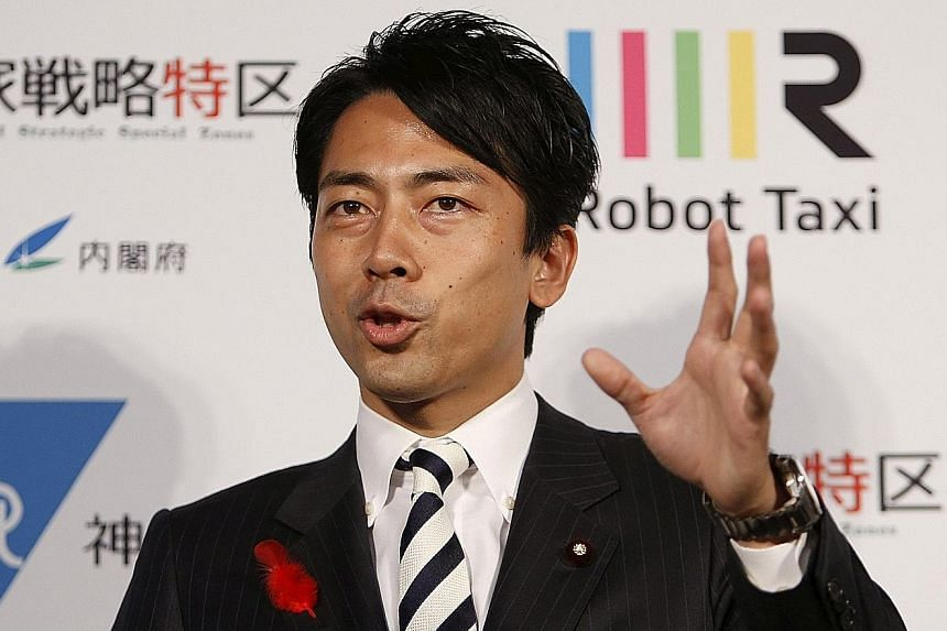 Mr Shinjiro Koizumi, the 36-year-old bachelor son of charismatic former Japanese premier Junichiro Koizumi, has been suggested as a future leader since being elected in a 2009 Lower House poll.
