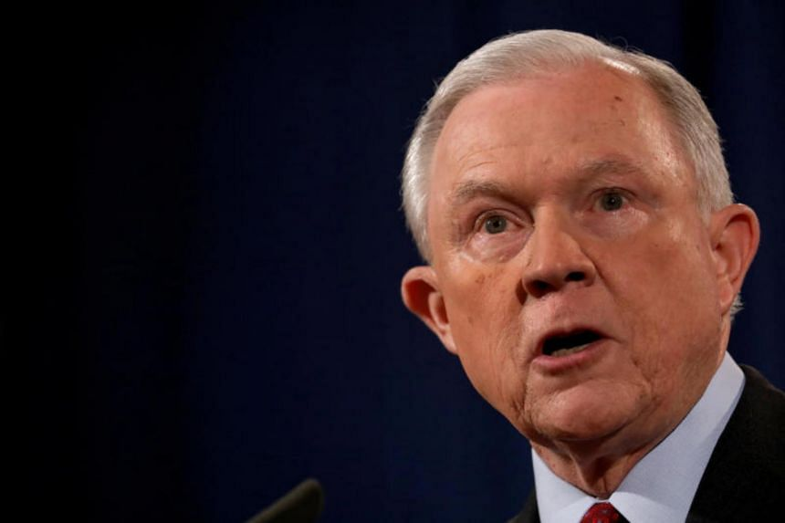 US Attorney General Jeff Sessions has said repeatedly that he never discussed campaign-related issues with Russian officials.