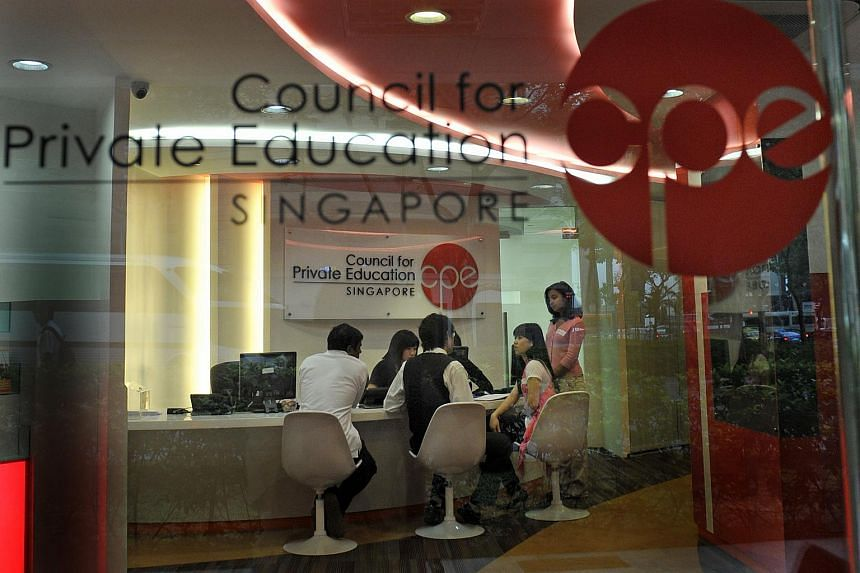 The interior of the Student Services Centre, a one-stop centre for students to get information, make complaints or get redress from private schools.