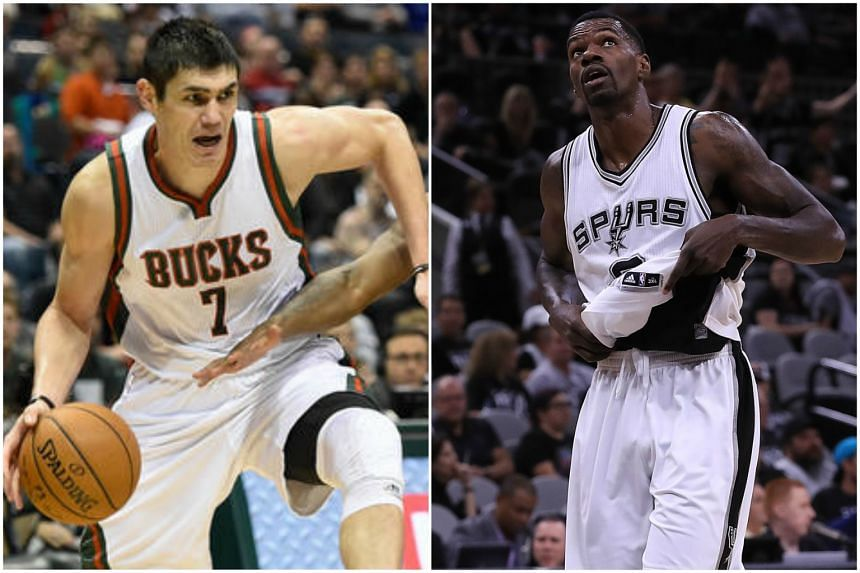 Ersan Ilyasova and Dewayne Dedmon joined from the Bucks and the Spurs respectively.