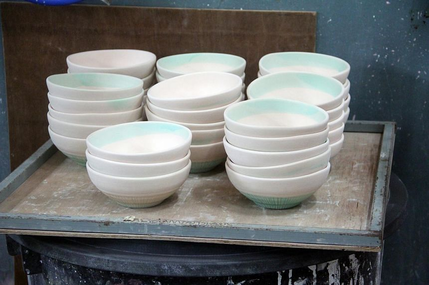 Ceramics for Doi Tung's collection for Ikea.