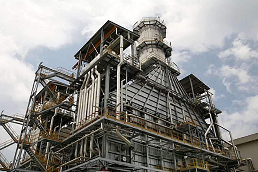 The Keppel Merlimau Cogen plant on Jurong Island. Keppel Infrastructure Trust's track record of steady distributions backed by utility assets has gained more recognition in recent months.