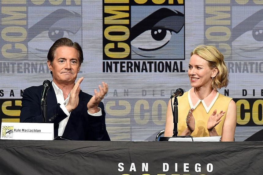 Cast members of Twin Peaks, including Kyle MacLachlan and Naomi Watts, say they were frequently asked what it was like to work with director David Lynch (above).