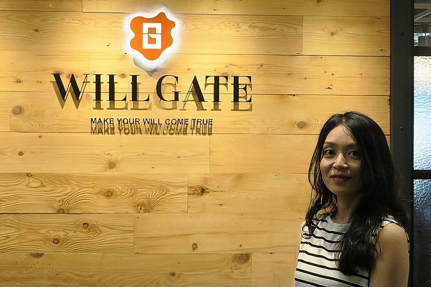 Ms Naoko Oikawa, a manager with marketing company Willgate, worked reduced hours while she took care of her newborn child.