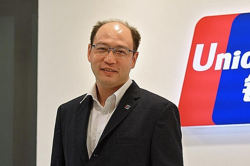 Mr Yang Wenhui concedes that branding is one area that UnionPay has to pay more attention to.