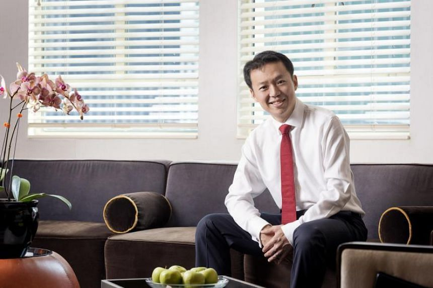 Ascott CEO Lee Chee Koon at one of its serviced residences.