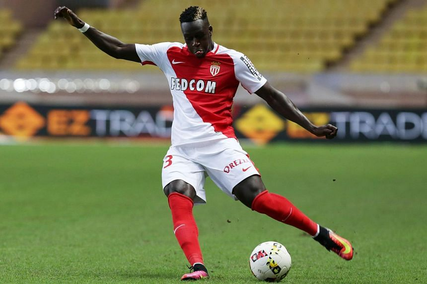 This file photo taken on Aug 3, 2016 shows Monaco's Benjamin Mendy kicking the ball during the Champions League third qualifying football match between Monaco and Fenerbahce.