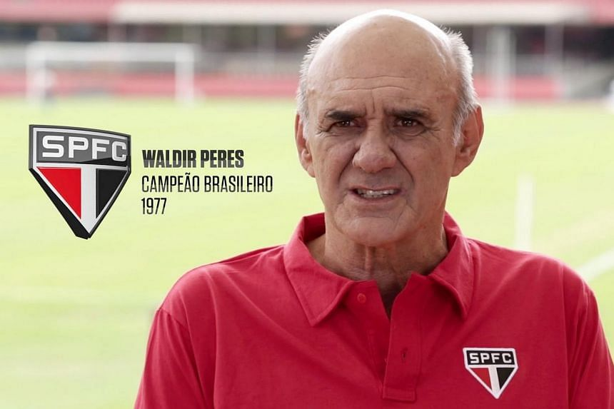 Goalkeeper Waldir Peres was second on the all-time appearances list for Brazilian club Sao Paulo.