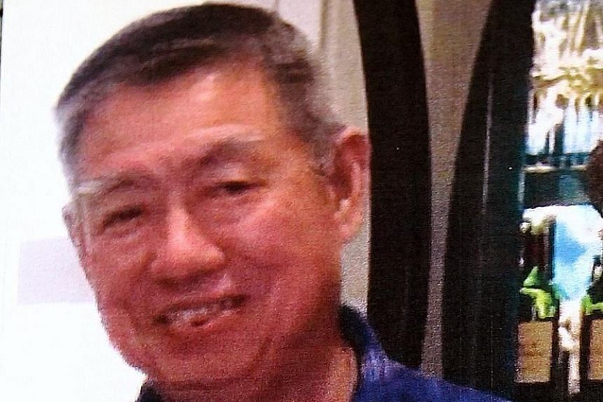 """Ong Choon Lin (above) produced the talismans while his wife Ng Kim Yew was the """"face'' of the scam, promoting it to her followers."""