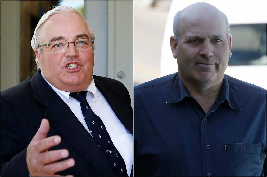 Winston Blackmore (left) and James Marion Oler were convicted of polygamy on July 24, 2017.
