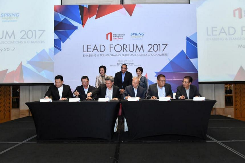 Spring Singapore and International Enterprise Singapore have initiated 28 projects focusing on areas such as productivity improvements and digitalisation.