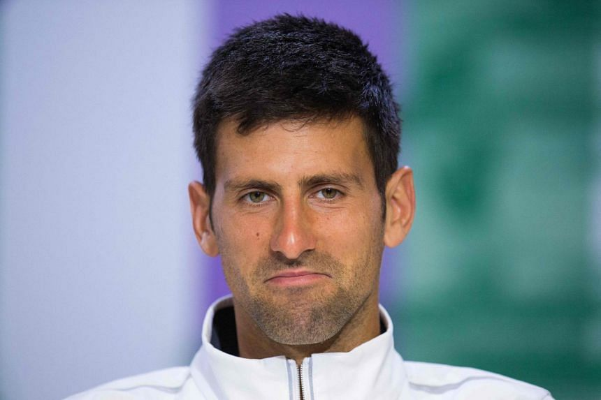 Novak Djokovic said he was considering taking a break from playing to recover from the long-standing injury to his right elbow.