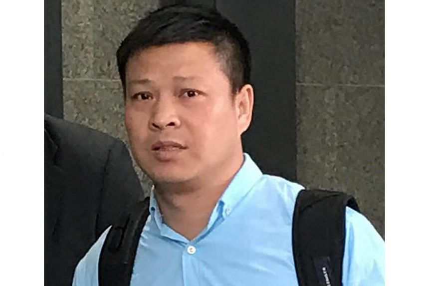 Pan Xue Jun was charged with transporting the nine Terrex infantry carriers to Hong Kong without a licence.