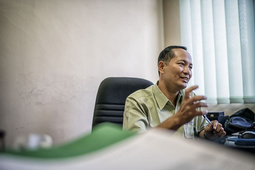 Mr Bambang Herdyantara, 50, a senior researcher in Sinar Mas Forestry's Research & Development division said APP collaborates with several universities for research.