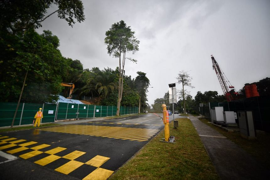 The site for the new Bird Park in Mandai.
