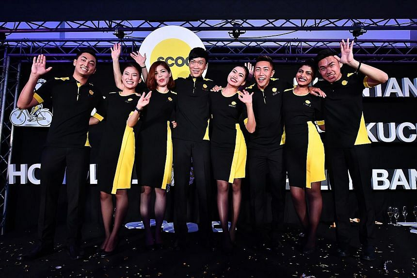 Scoot unveiled new cabin crew uniforms yesterday.With the completion of the integration of the Scoot and Tigerair brands under a single operating licence and brand, all Tigerair flights will now operate under the Scoot brand.
