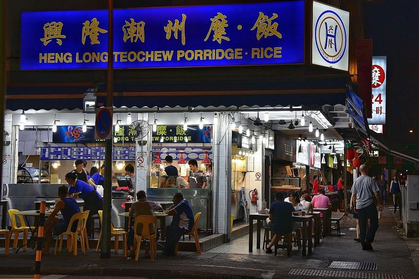 Six people were arrested on Sunday for brawling at the Heng Long Teochew Porridge shop in Upper Serangoon Road. And on May 27, four customers allegedly wrecked the place after they were upset over their $28 bill.