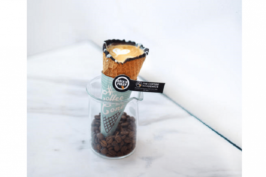 Coffee in a Cone by The Coffee Academics.