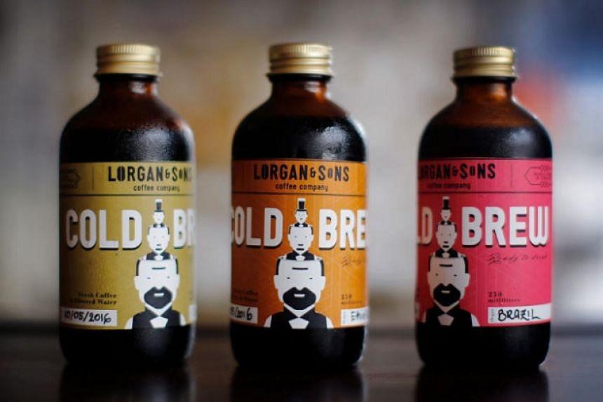 Brews from Lorgan & Sons Coffee Company.