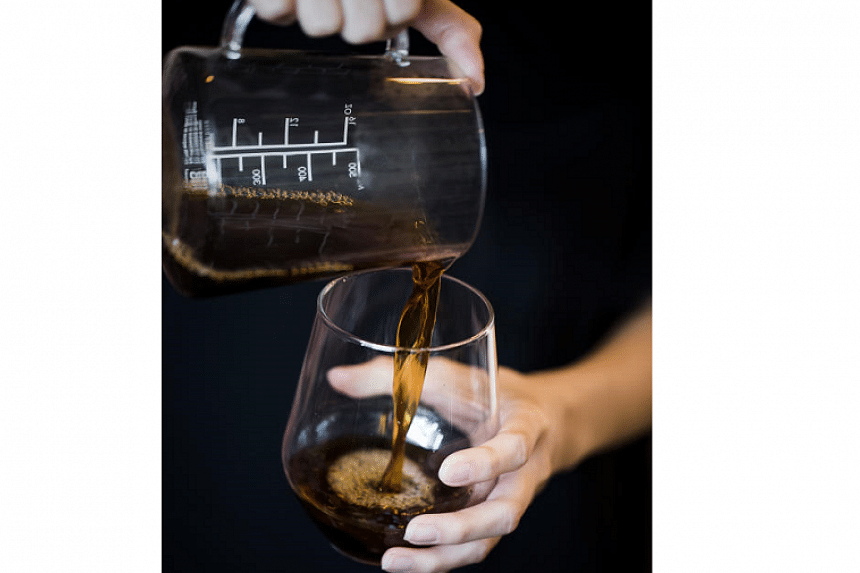 A brew from The Pourover Bar.