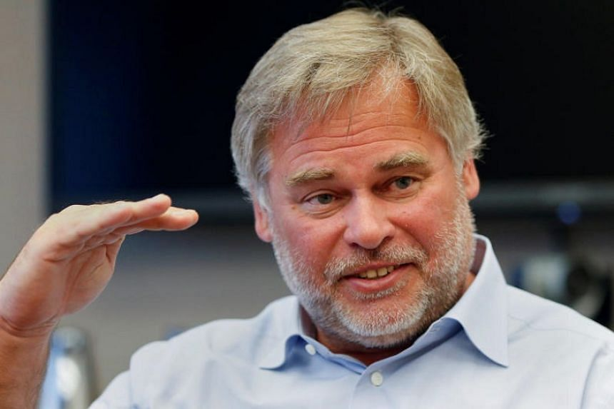 Moscow-based Kaspersky Lab is founded by Mr Eugene Kaspersky, seen here in a 2015 file photograph.