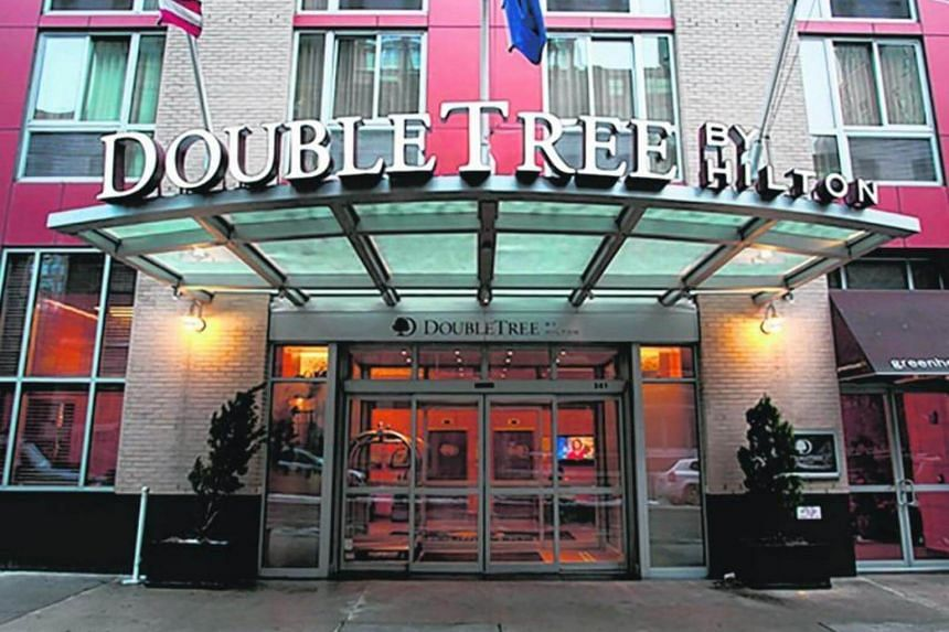 DoubleTree by Hilton Hotel in New York.