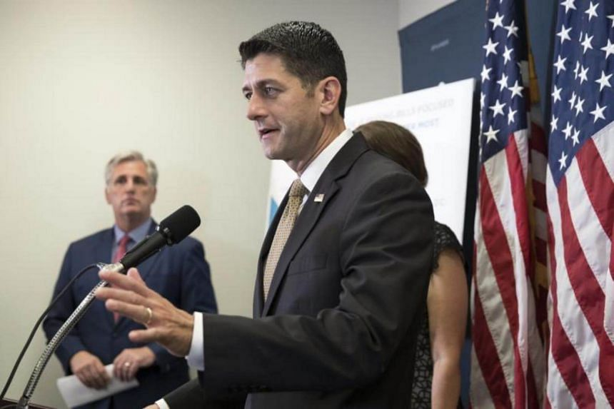"House Speaker Paul Ryan said the bill is ""one of the most expansive sanctions packages in history""."