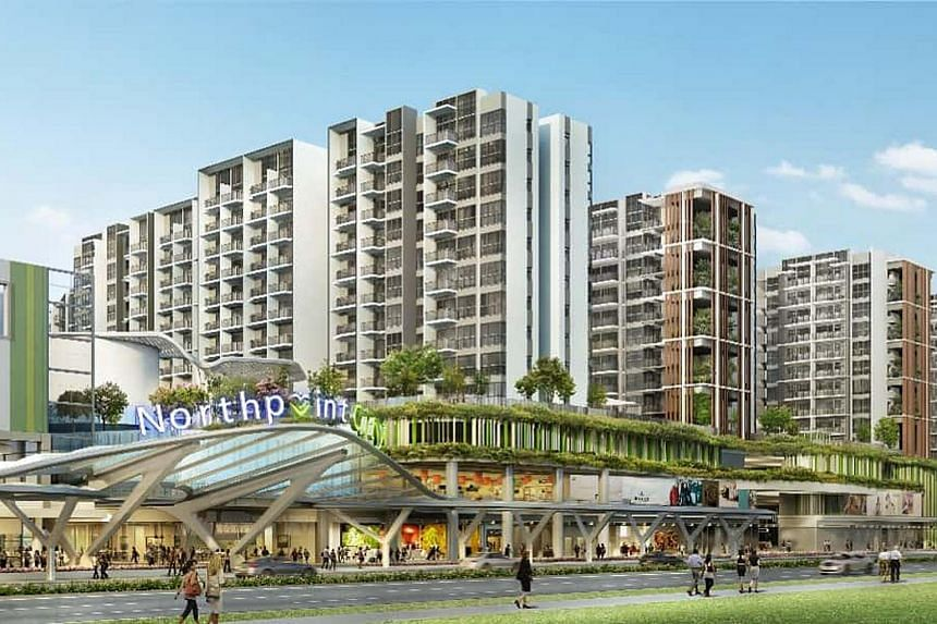 Artist's impression of Northpoint City.
