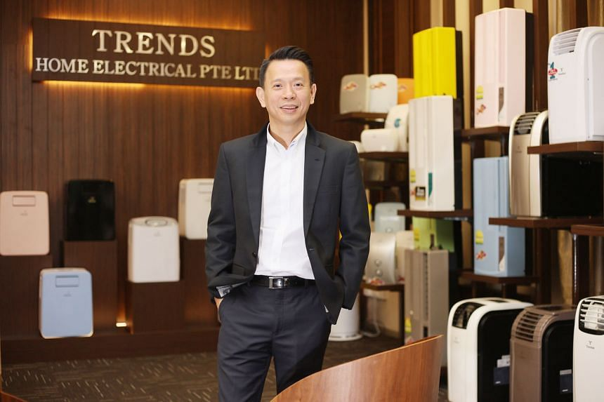 Mr Joel Ho, founder of home electrical appliance firm Trends and its in-house brand Trentios, believes that adopting new technologies sets the firm apart from its competitors. With a presence already in China, Malaysia, Thailand and Indonesia, the fi