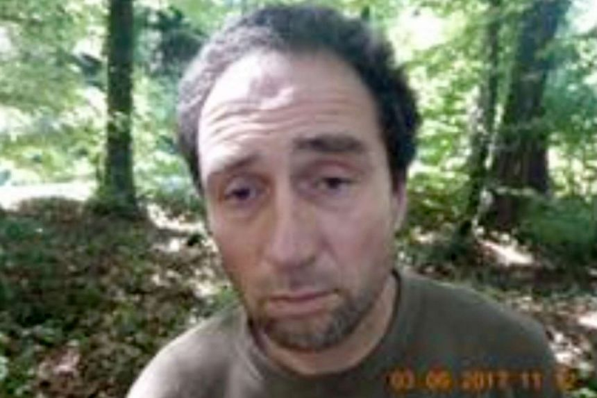Franz Wrousis, a 51-year-old man with a criminal history and no fixed address who reportedly has spent significant time living in a forest.