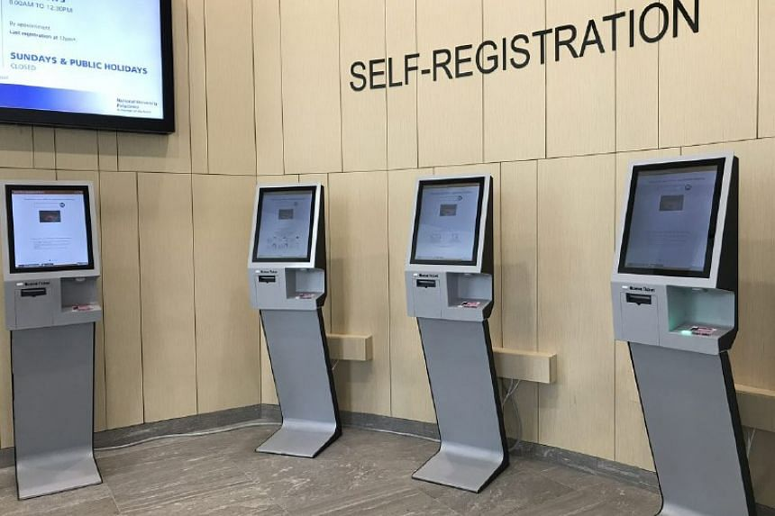 The self-registration booths of Pioneer Clinic will give a registration number that each clinic attendee will use throughout the entire visit, from the session with the doctor till medicine collection
