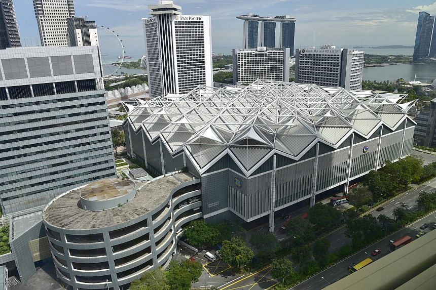 As at June 30, the Singapore office portfolio achieved an overall committed occupancy of 98.8 per cent. The committed occupancies for Suntec City Office (above) was at 97.9 per cent.