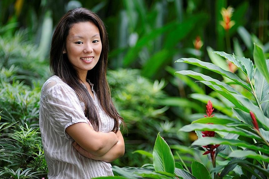 Ms Nicolette Ng, who received the Lim Kim San Memorial Scholarship in 2011, now runs an English and writing centre.