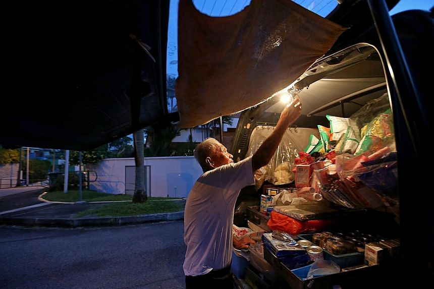 "Mr Foo Kee See, also known as ""Uncle Bread"", who sold provisions from his van for 55 years in Serangoon Gardens and Seletar Hills Estate, was featured in the Home In Focus series in The Straits Times on Jan 9 this year."