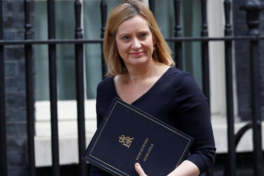 Home Secretary Amber Rudd (above, in a June 2017 photograph) said the study would consider the regional distribution of EU migration, which industries are most reliant on it and the role of temporary and seasonal workers in the economy.