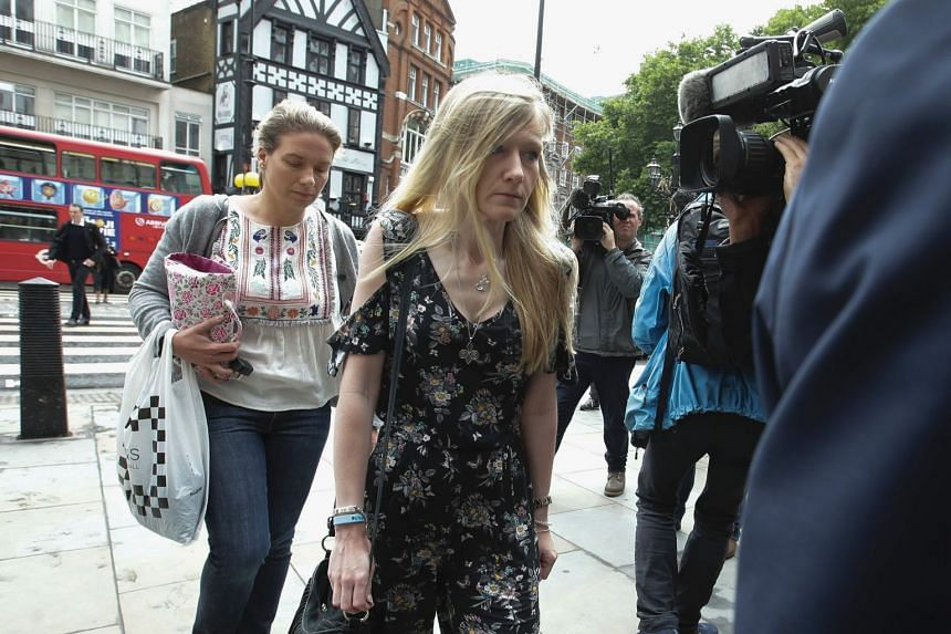 Charlie's mother Connie Yates arrives at the Royal Courts of Justice in London on July 26, 2017.