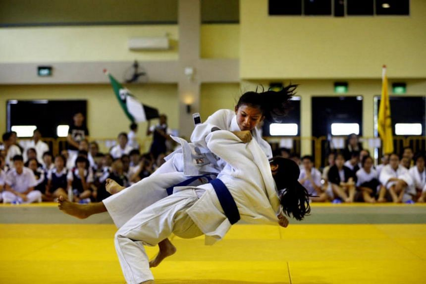 Nanyang Girls' High School (NYGH) clinched five golds, four silvers and one bronze at the Schools National C Division judo finals on Thursday (July 27).