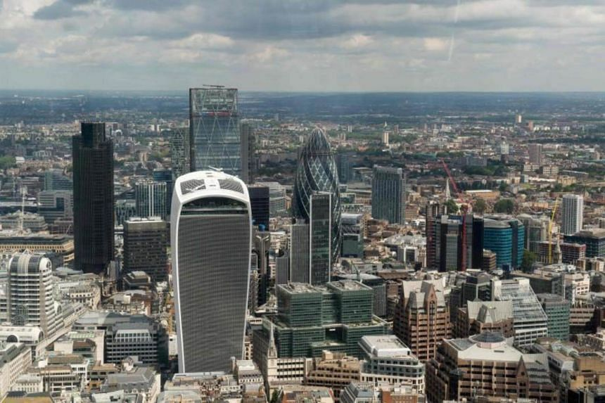 The price for London's iconic Walkie Talkie tower (centre front) is the highest-ever paid for a single property in the United Kingdom.