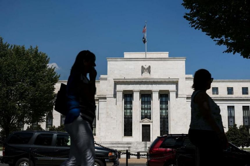 This file photo taken on Sept 17, 2015 shows US Federal Reserve in Washington, DC.