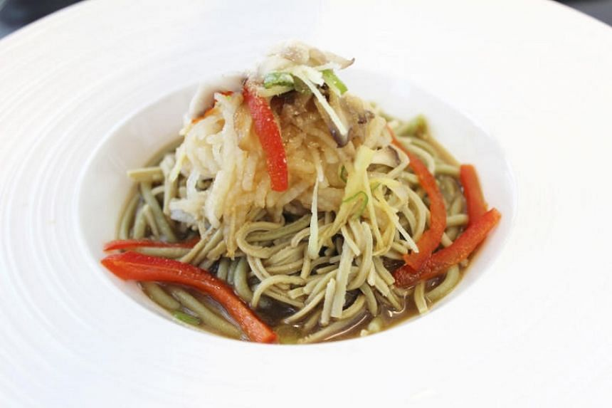Japanese Yam Noodles from Frunatic.