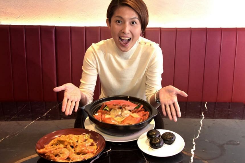 Actress-host Lina Ng is a self-confessed crab lover.