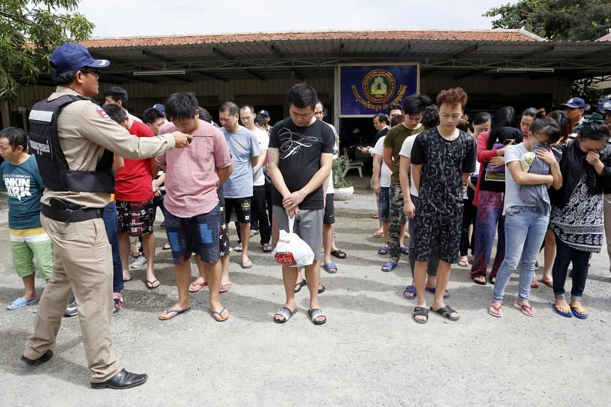 Cambodian authorities deported 31 Chinese citizens back to China after they were accused of cyber crime.