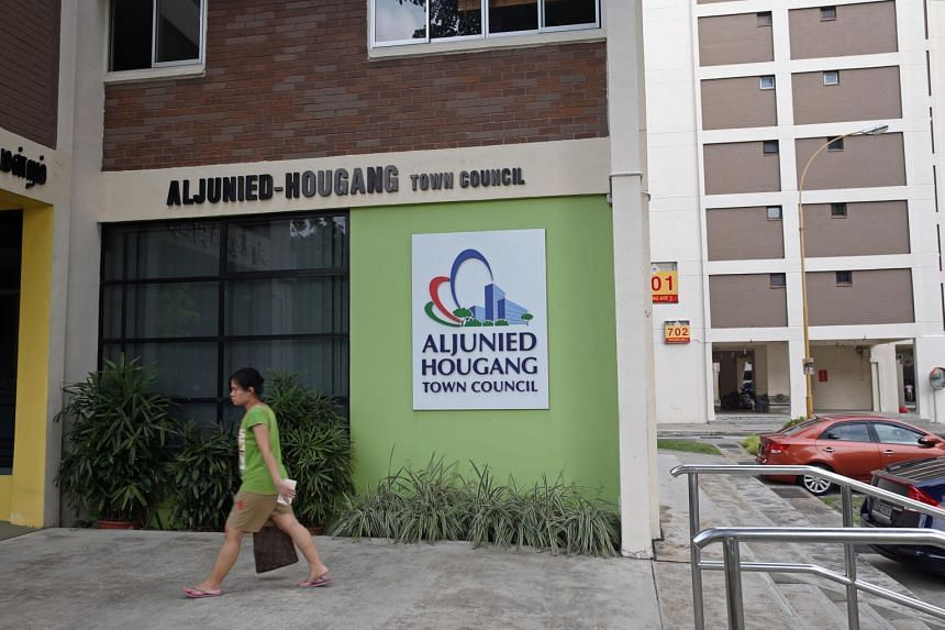 Aljunied-Hougang Town and Aljunied-Hougang Town Council at Blk 701 Hougang Ave 2.