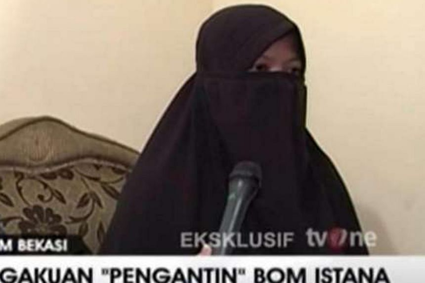 Dian Yulia Novi, a domestic helper who had worked in Singapore, was allegedly planning to mount a suicide bomb attack on the presidential palace in Jakarta.