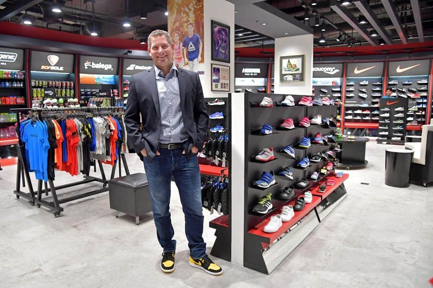 Royal Sporting House, which started with its first store at Lucky Plaza in 1977, has revamped its image and its product offerings to appeal to younger customers.
