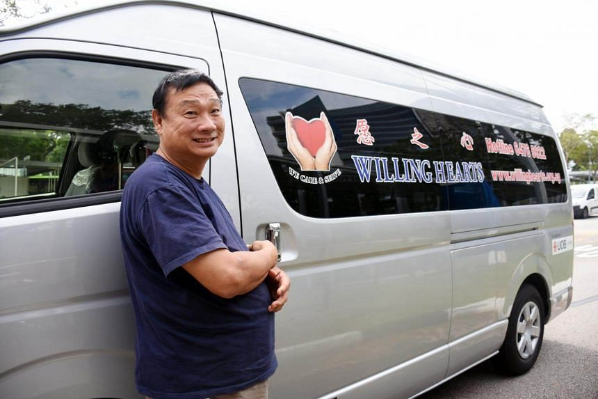 Mr Tony Tay, 70, founder of a volunteer group providing hot meals to the poor called Willing Hearts has won a Magsaysay Award.