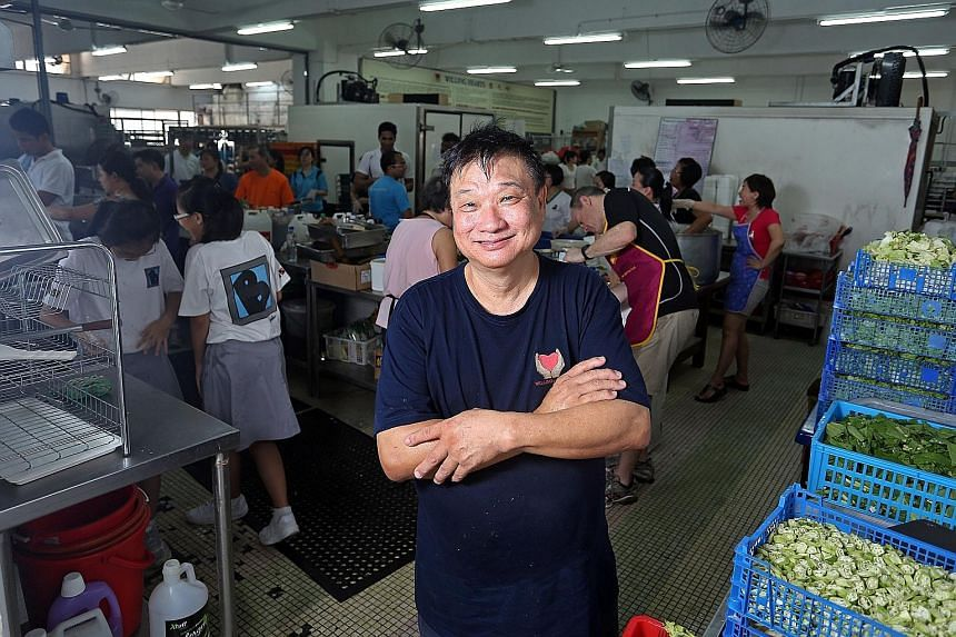 """Willing Hearts founder Tony Tay was recognised for """"his quiet, abiding dedication to a simple act of kindness - sharing food with others"""", said the foundation. He is only the third Singaporean to win the Magsaysay award."""